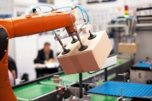 Robot arm packing