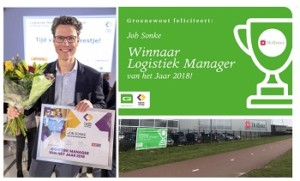 Hollister's Job Sonke named as Dutch Logistics Manager of the Year 2018