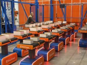 Conveyors under threat from autonomous mobile robots