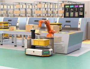 Smart warehousing: cobots are experts at multitasking